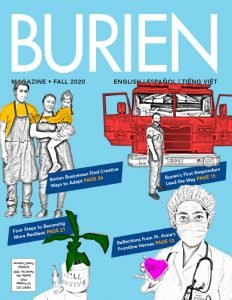 Burien Magazine's Fall 2020 Cover