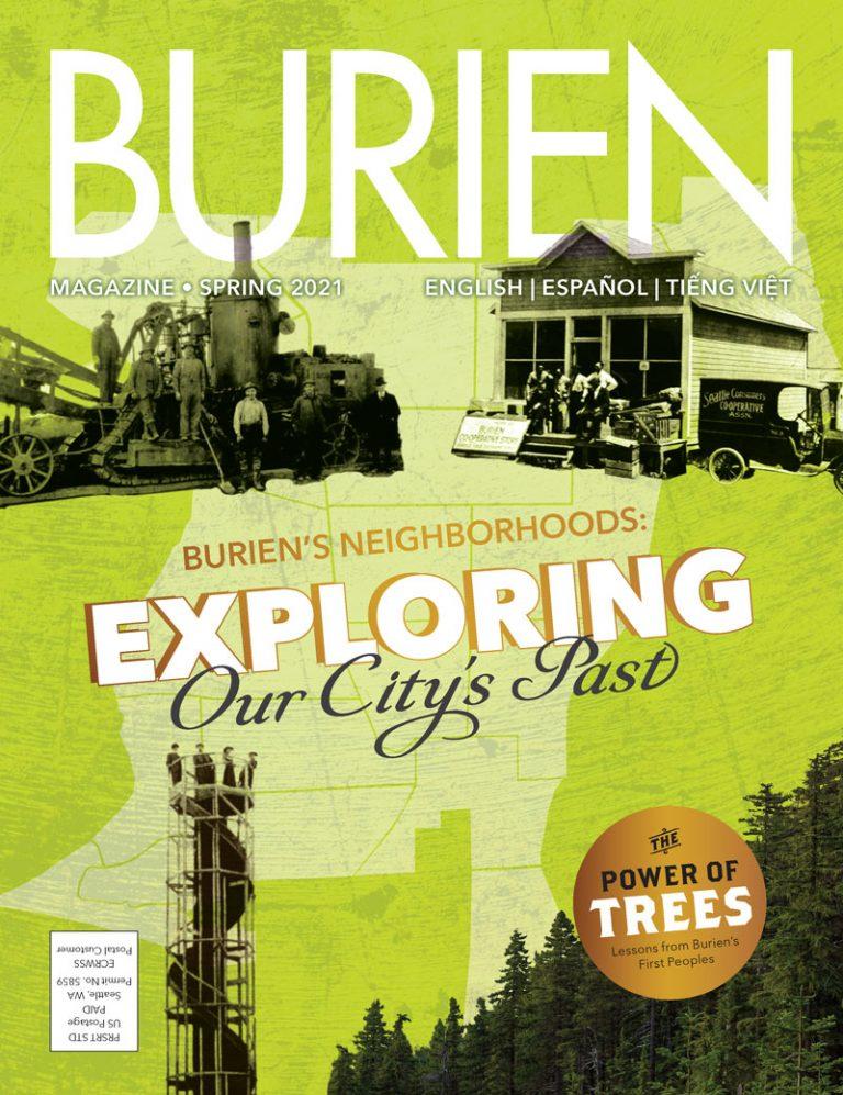 2021 Spring Burien Magazine Print Edition Cover