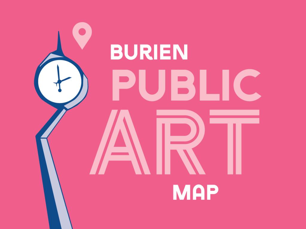 Burien Public Art Map