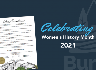 Celebrating Women's History Month 2021.