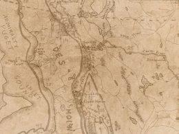 Coast Salish map of Burien, WA