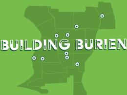 Building Burien. Map.