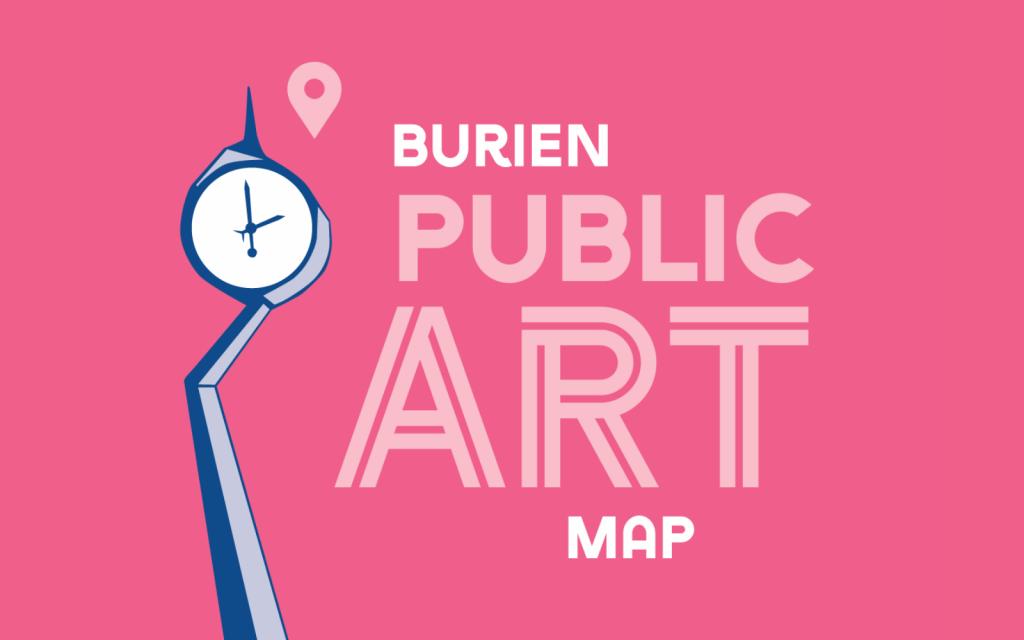 Burien Public Art Map logo