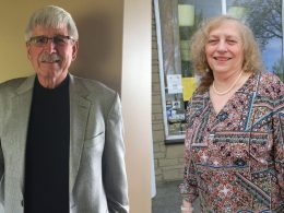 Larry Cripe and Wendy Meyers-Wenger.